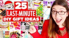 25 Easy Last Minute DIY Gift Ideas! | Karen Kavett