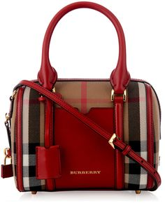 9ee875b23745 Burberry London Alchester mini checked bowling bag - love it!