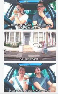 I wish Jack and Finn still posted but they are going to go so far in life and I'm really proud of them