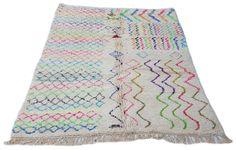 10'X7' ft / Handmade Moroccan rug Beni Ourain 100%