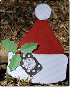 Santa Gift Card Holder...with tutorials