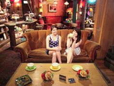 Central Perk Warner Bros studios, Los Angeles