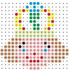 Knutselen kralenplank koningshuis kleuters Pearler Bead Patterns, Pearler Beads, Medieval, Kings Day, Dragons, Iron Beads, Paper Piecing, Beading Patterns, Pixel Art