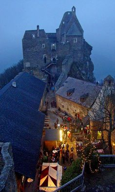 Christmas market at Aggstein Castle, Wachau, Austria | by Danny Liska