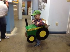 tractor costumes for toddlers | Tractor costume | Halloween ...