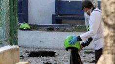 Tres policías muertos y 14 heridos al estallar bomba en cuartel en Colombia