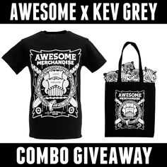 NEW CONTEST!  Win Kev Grey combo & a £25 website voucher!  Re-pin this pin. Full details here: http://awsmr.ch/KevGreyComp  GOOD LUCK!