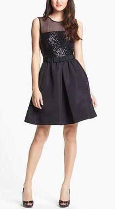 Sparkly, Little Black Dress