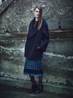 Fall Fashion: New York Designers Claim Their Turf  - Michael Kors coat and skirts