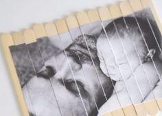 ¿Cómo hacer un puzzle casero? Una manualidad para los ñiños para el día del padre. Incluye una foto mona de los hijos con su padre