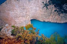 Photos from the island of Zakynthos, with descriptions and geographical references