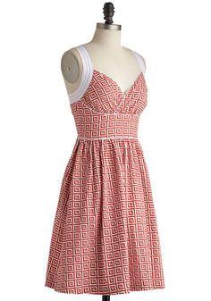 Paradise Tile Dress, #ModCloth