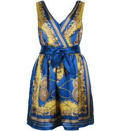ROBE IMPRIMÉE FOULARD  Yes I would love to wear this!