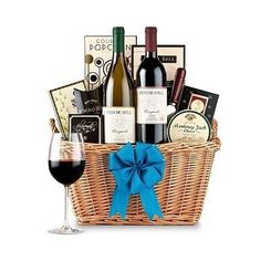 California Classic Wine Basket