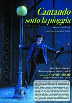 """15 novembre - Teatro Comunale di Casalmaggiore (CR) - """"Cantando sotto la pioggia"""" con la Compagnia Corrado Abbati"""
