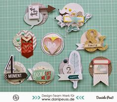 DIY Scrapbooking Embellishments selber machen |ein MitmachMontag Tutorial von www.danipeuss.de