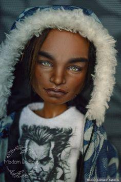 ООАК Клод Monster High от Мадам Бу / ООАК игровых кукол / Шопик. Продать купить куклу / Бэйбики. Куклы фото. Одежда для кукол