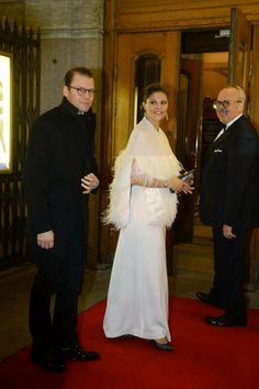 20 DECEMBER 2013 - Swedish Royal Family Celebrates Queen Silvia's 70 Birthday: Members of the Swedish Royal Family attended a gala performance at the Oscars Theatre for celebration of  Queen Silvia's upcoming 70th birthday on December 23.