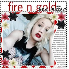 ☆ 46. fire n gold by bea miller