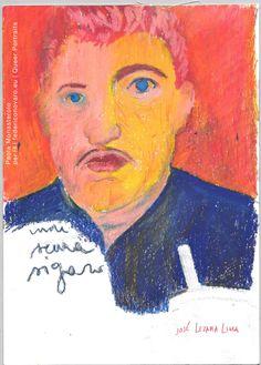 JOSÉ LEZAMA LIMA, di Paola Monasterolo. QUEER PORTRAITS, 30. - feat. Federico Boccaccini www.federiconovaro.eu