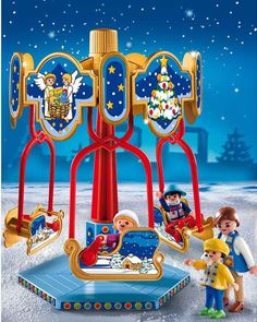 Playmobil Christmas - Sled Carousel by Playmobil - $14.99