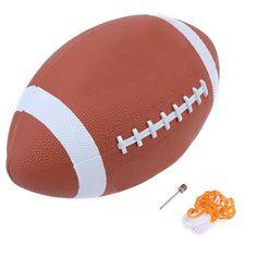 1 sztuk AF9 Miękkiej Gumy Futbol Amerykański Nr 9 Piłkę Do Rugby Piłki  Sportowe dla Dzieci Dziecko Młodych Mężczyzn Kobiety Bezpieczeństwa c50db8d8fbebb