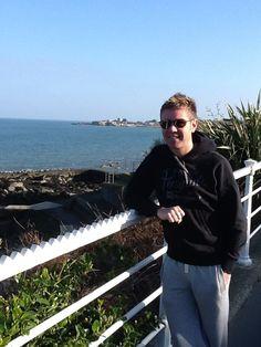 Neil Byrne of Celtic thunder on time off in Ireland!!
