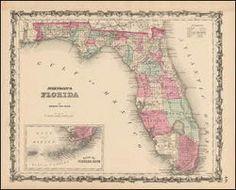 Best Florida Antique Maps Images On Pinterest Antique Maps Old - Antique looking maps