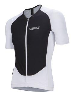 2016 Nalini XRace Ti SS Jersey - Black White Cycling Gear 956a0d415