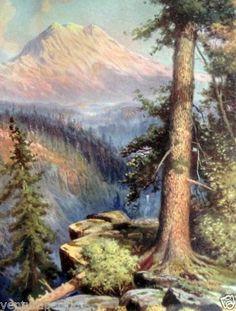Mount-Ranier-R-Atkinson-Fox-Fine-Art-Giclee-Print