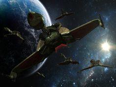 Star Trek hd wallpapers backgrounds desktop, Klingon Bird Of Prey. See more at www.startrekdesktopwallpaper.com