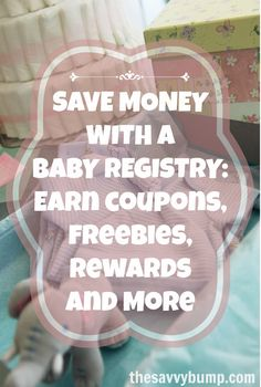 """Expecting? Find out what coupons, freebies and rewards you'll get from all the major baby registries including Babies """"R"""" Us, Amazon, Target, and more."""