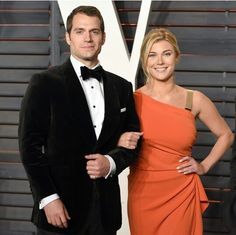 Ugh, Henry Cavil and his 19 yr old girlfriend Tara at the Oscars.
