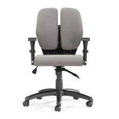Aqua Gray Office Chair from Wysada.com