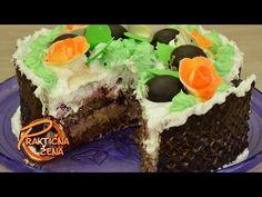 Praktična žena - Čokoladna torta sa višnjama - YouTube