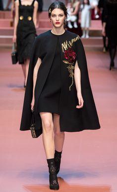 money-in-veins:  Dolce & Gabbana FW 2015 // Milan RTW (Details)