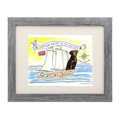 Look what I found at UncommonGoods: Picture Your Pet - Captain for $75.00 - 135.00