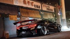 With a Liberty Walk body kit and Forgiato alloys, this Honda NSX is a beast transformed. Supercars, New Luxury Cars, Acura Nsx, Acura Supercar, Liberty Walk, Honda Cars, Import Cars, Japan Cars, Car Tuning