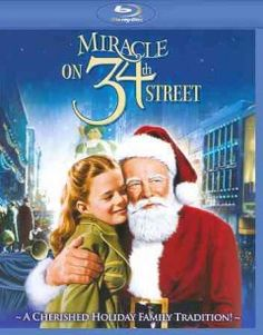Miracle on Street of the best Christmas movies. I watch it all year around when I need a feel good movie. It features a very young Natalie Wood, who is wonderful in this part. Family Christmas Movies, Classic Christmas Movies, Family Movies, Classic Movies, Holiday Movies, Xmas Movies, Christmas Classics, Christmas Time, Chrismas Movies