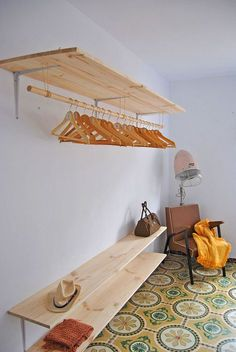 New Room Decor Diy Closet Spaces 58 Ideas Small Woodworking Projects, Easy Small Wood Projects, Diy Woodworking, Woodworking Techniques, Woodworking Furniture, Closet Bedroom, Bedroom Storage, Bedroom Decor, Teen Bedroom