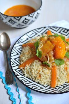Couscous au Poulet, Légumes et Raisins Secs - Safran Gourmand