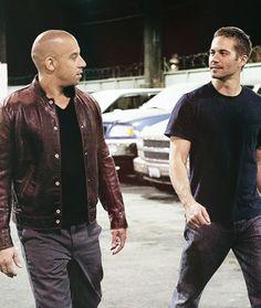 Paul Walker and Vin Diesel...❤️