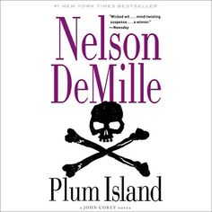 "Another must-listen from my #AudibleApp: ""Plum Island"" by Nelson DeMille, narrated by Scott Brick."