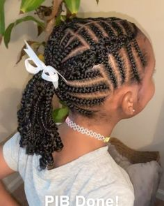 Box Braids Hairstyles, Kids Braided Hairstyles, Easy Hairstyles For Long Hair, Little Girls Natural Hairstyles, Lil Girl Hairstyles, Little Girl Braids, Girls Braids, Kid Braids, Short Hair Styles Easy