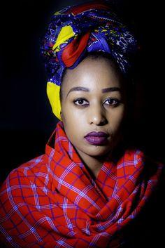 Mpho Khati Africa Fashion, Ethnic Fashion, Turban Style, Scarf Hairstyles, African Women, Headgear, Hair Day, Headdress, Wrap Style