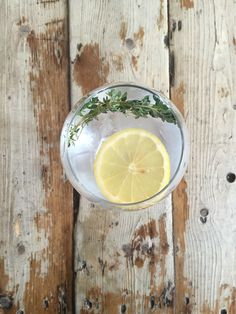 Aviation American Gin // Lemon & Thyme Gin Goblets, Gin Lemon, Gin Brands, Aviation, Lime, Canning, Fruit, American, Lima