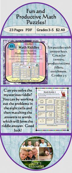 decimal fun math worksheets and riddles on pinterest. Black Bedroom Furniture Sets. Home Design Ideas