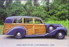 1949 Bentley Mark VI Woodie