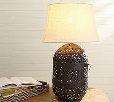 Merryl Birdcage Table Lamp Base #potterybarn