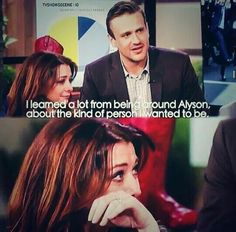 Alison and Jason <3 how i met your mother #himym